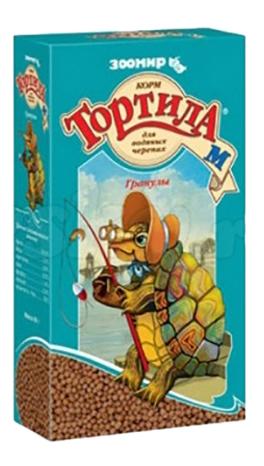 Зоомир Тортила М корм для водяных черепах,