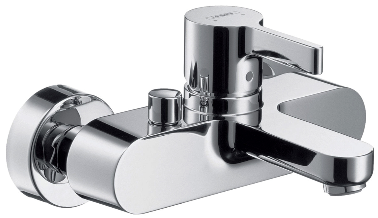Смеситель для ванны Hansgrohe Metris S 31460000 хром