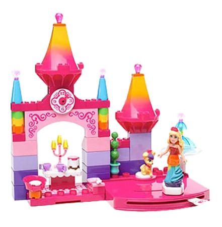 Купить Конструктор пластиковый Mattel Barbie Королевский бал, Mega Bloks, Конструкторы пластмассовые