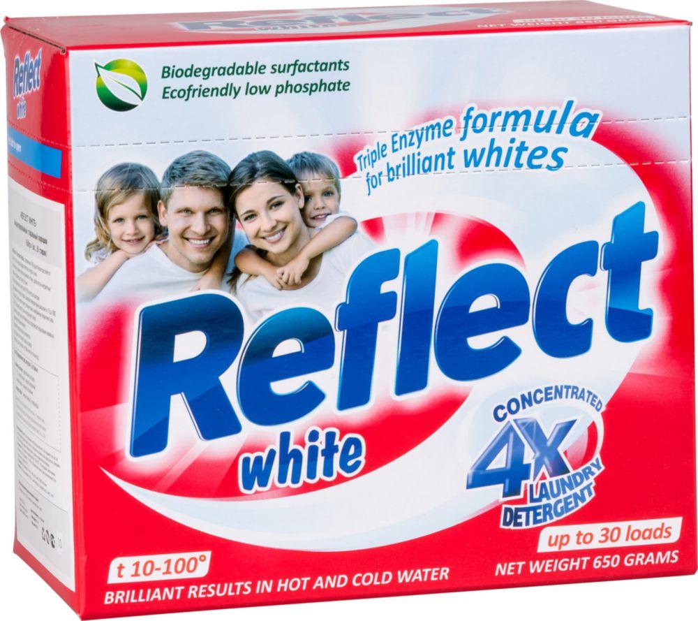 Порошок для стирки Reflect white концентрированный