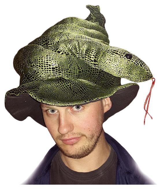 Карнавальная шапка Змея, 54 56 см