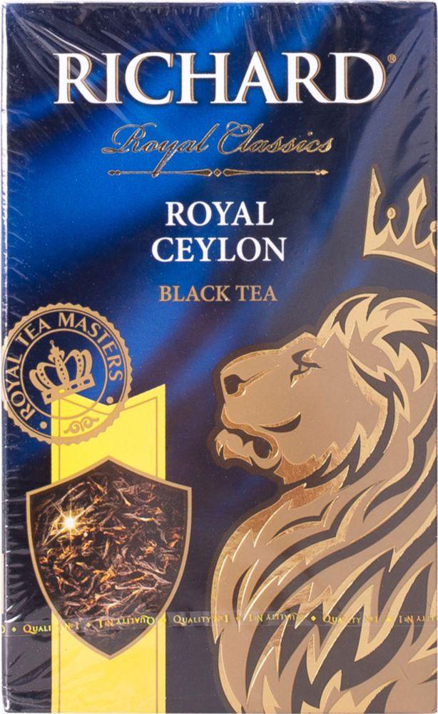Чай черный Richard royal ceylon листовой 90 г фото