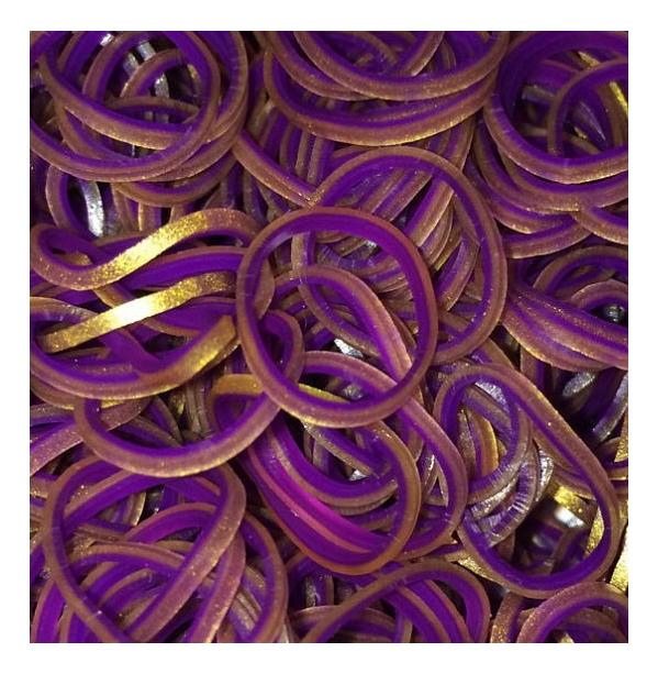 Плетение из резинок Rainbow Loom Персидская коллекция фиолетовый