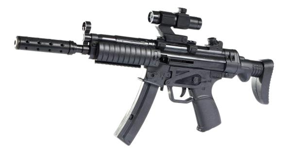 Купить Винтовка черный, Винтовка черная Shantou Gepai, Стрелковое игрушечное оружие