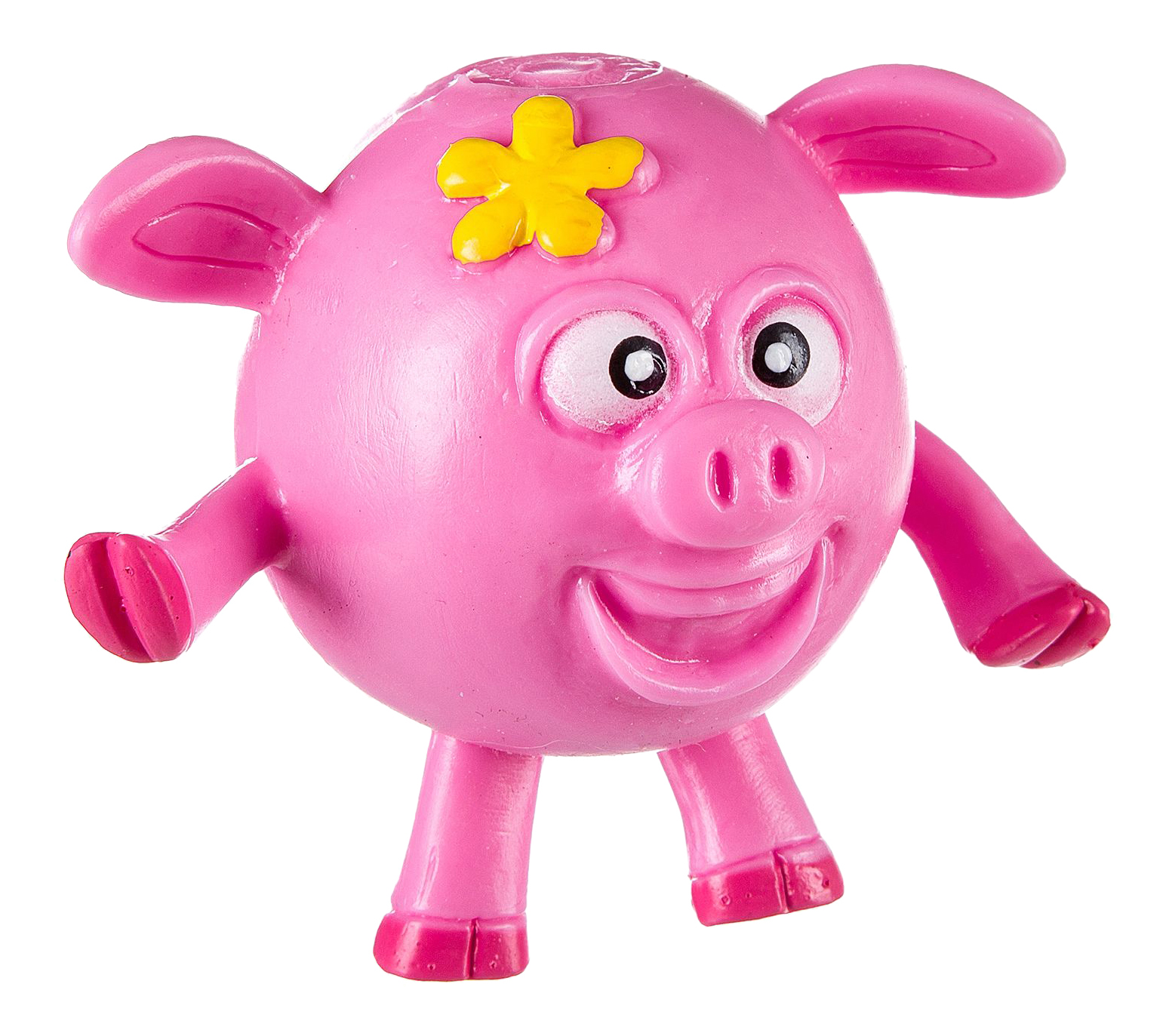 Купить Жамкарик поросенок, Игрушка-антистресс Жамкарик Поросенок Bondibon вв2500, Мягкие игрушки антистресс