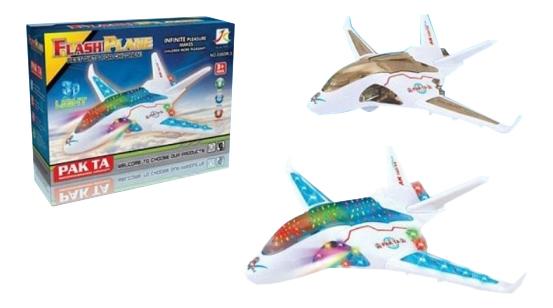 Игрушечный самолет Flash Plane 3D Gratwest Б81602 фото