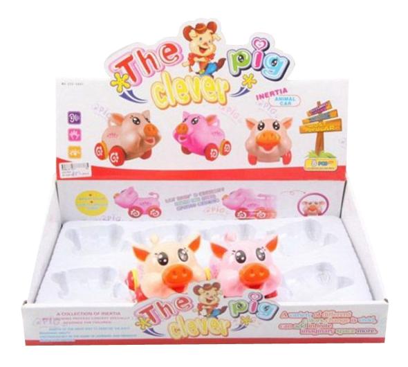 Купить Игровой набор The Clever Pig 8 игрушек Shenzhen Toys Н62535, Игровые наборы