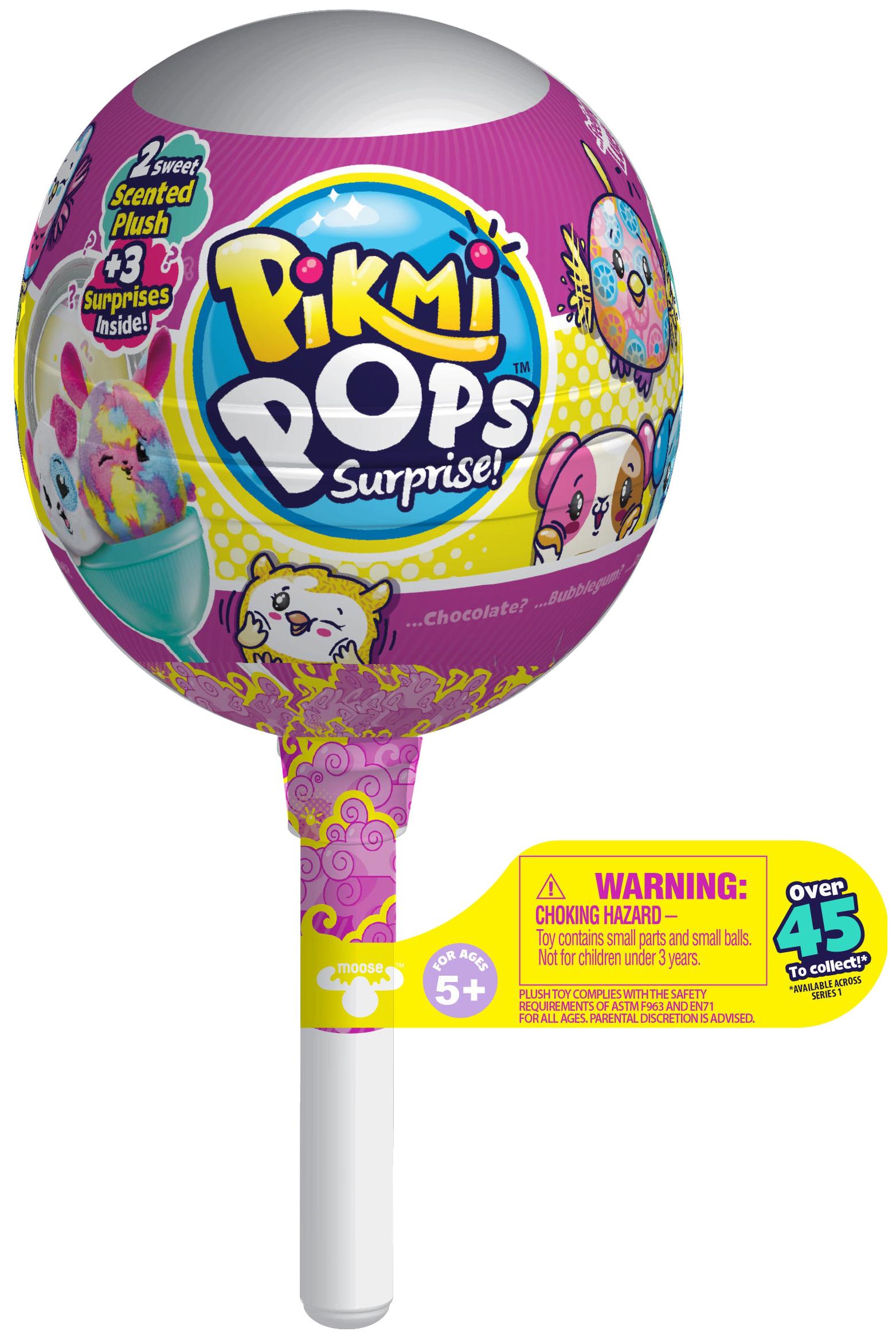 Купить Игровой набор Moose Pikmi Pops с двумя плюшевыми героями, Игровые наборы