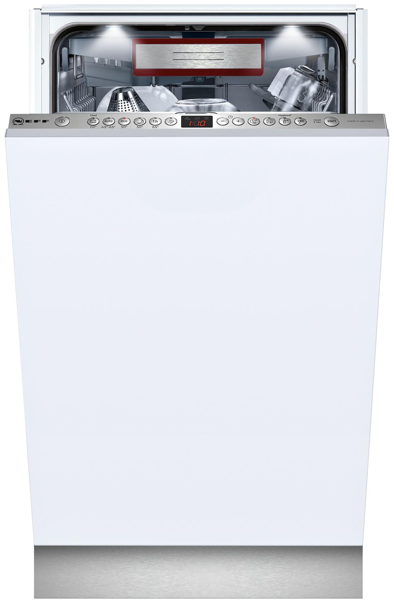 Встраиваемая посудомоечная машина 45 см Neff S585T60D5R