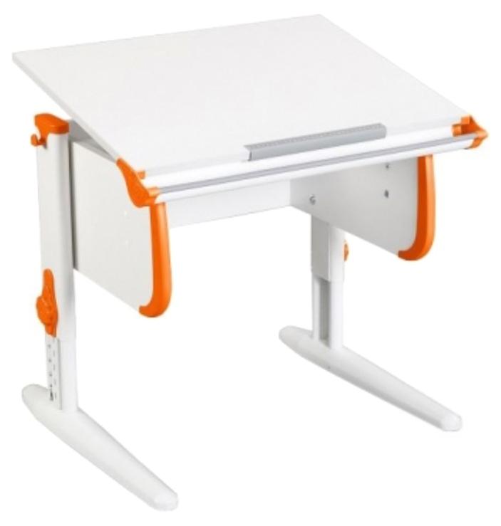 Парта Дэми White Стандарт СУТ-24 Белый/Оранжевый