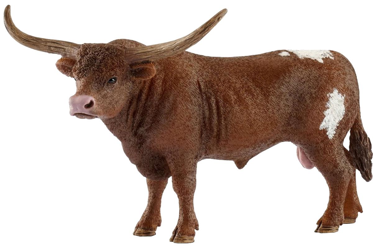Купить Фигурка животного Schleich Техасский бык Лонгхорн 13866, Фигурки животных