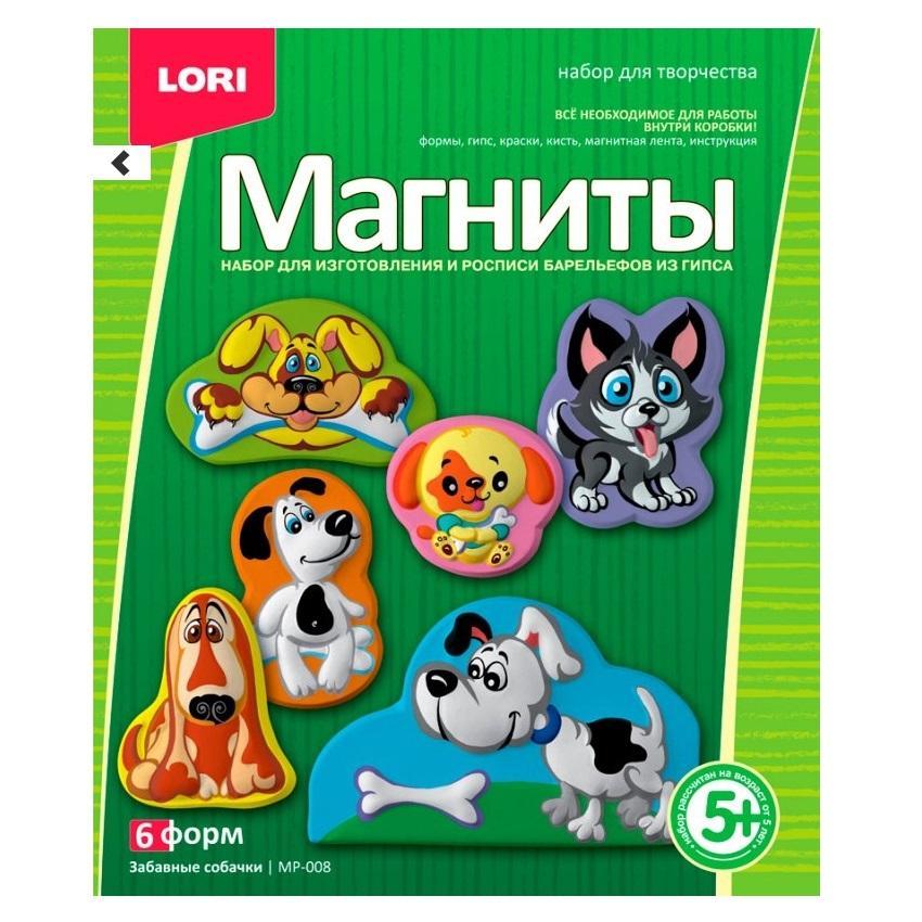 Купить Фигурки на магнитах Забавные собачки, Lori, Развивающие игрушки