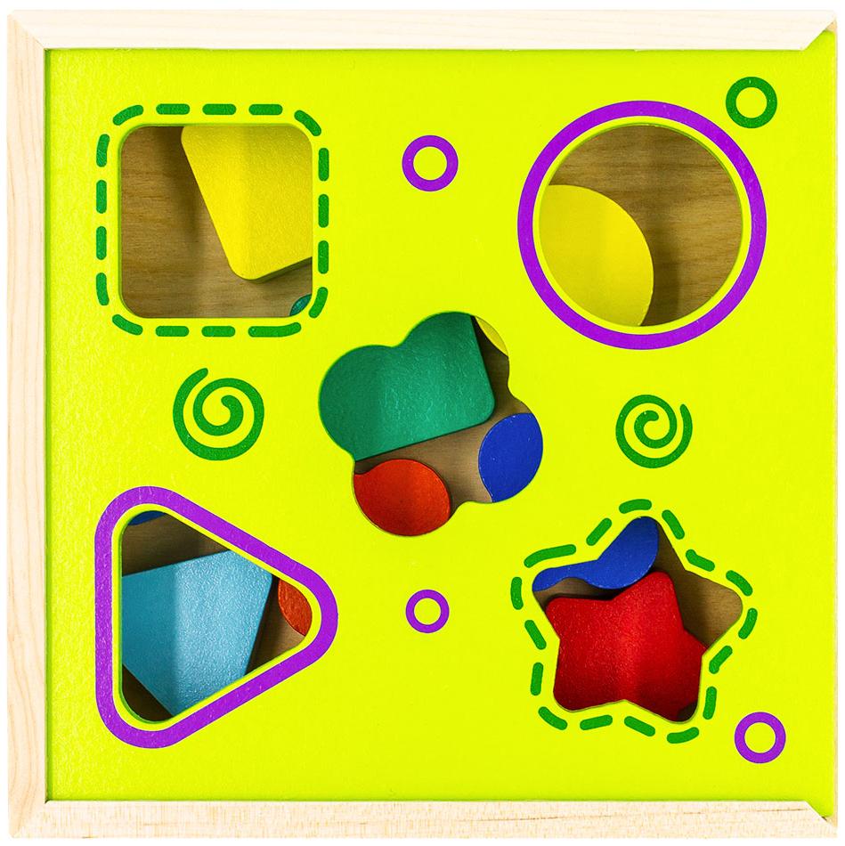 Развивающая игрушка Alatoys Сортер 8 деталей СОР03