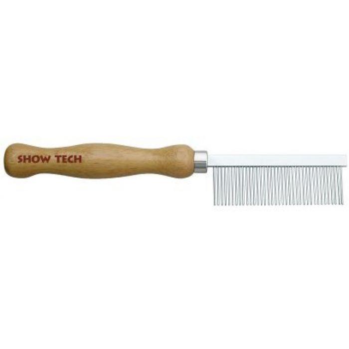 Расческа Show Tech Wooden Comb, для жесткой