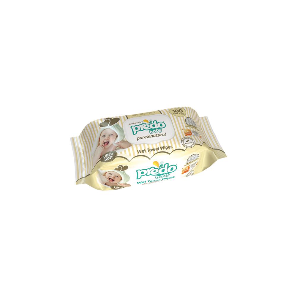Влажные салфетки Predo Baby 100 шт.