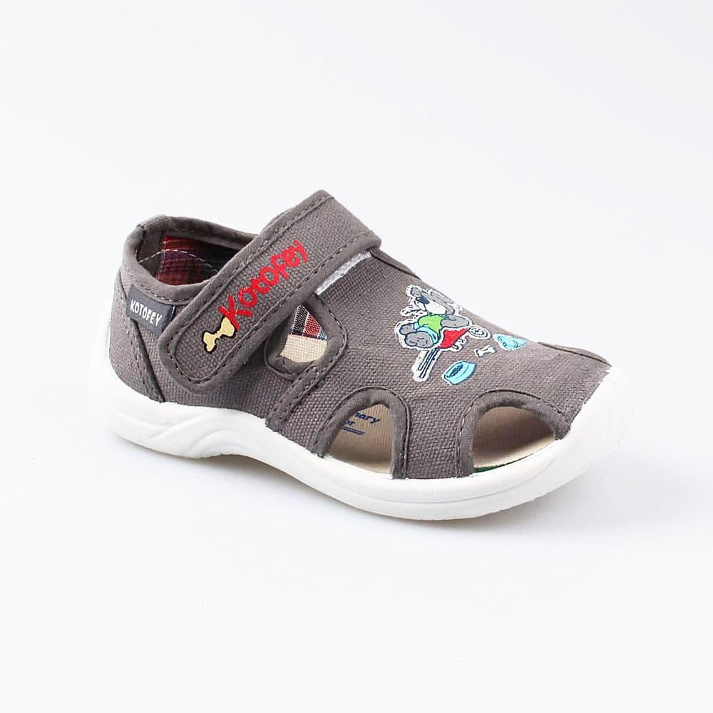 Текстильная обувь для мальчиков Котофей, 25 р-р