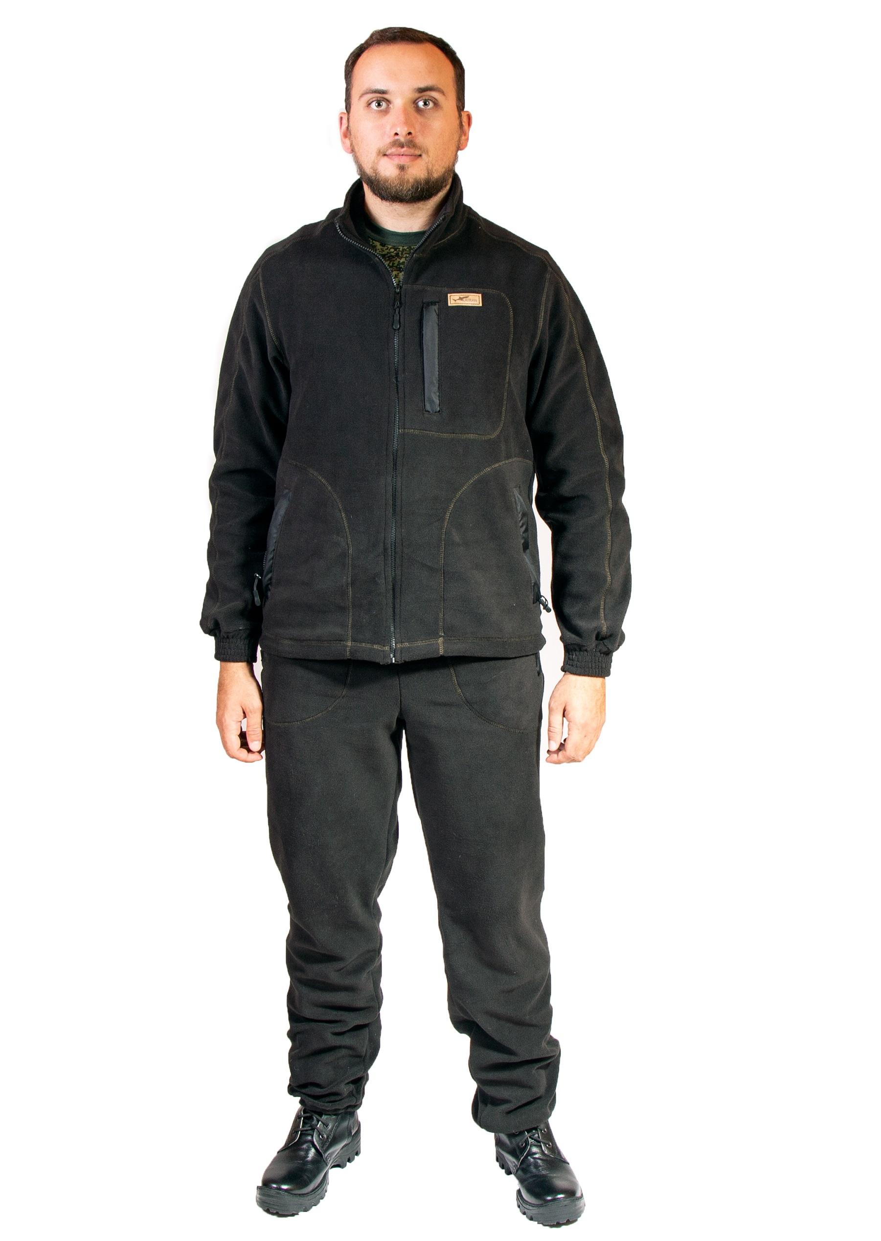 Спортивный костюм Katran Брукс, черный, M INT