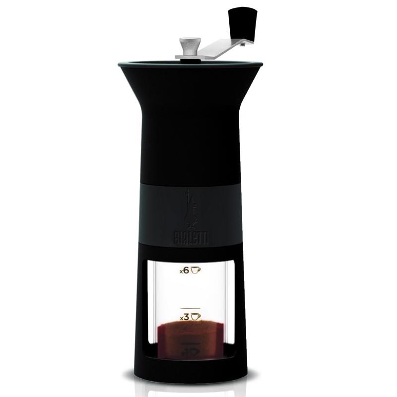 Кофемолка ручная Bialetti MACINA CAFFE, цвет черный