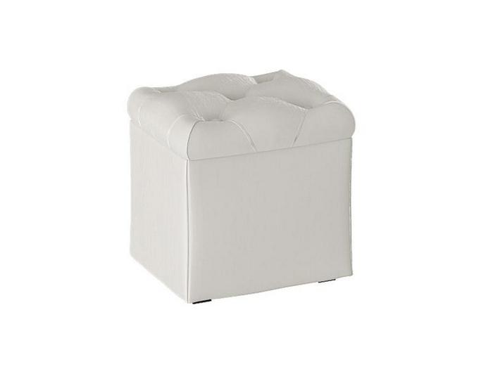 Пуф с ящиком для хранения ТриЯ Тип 4 Крем