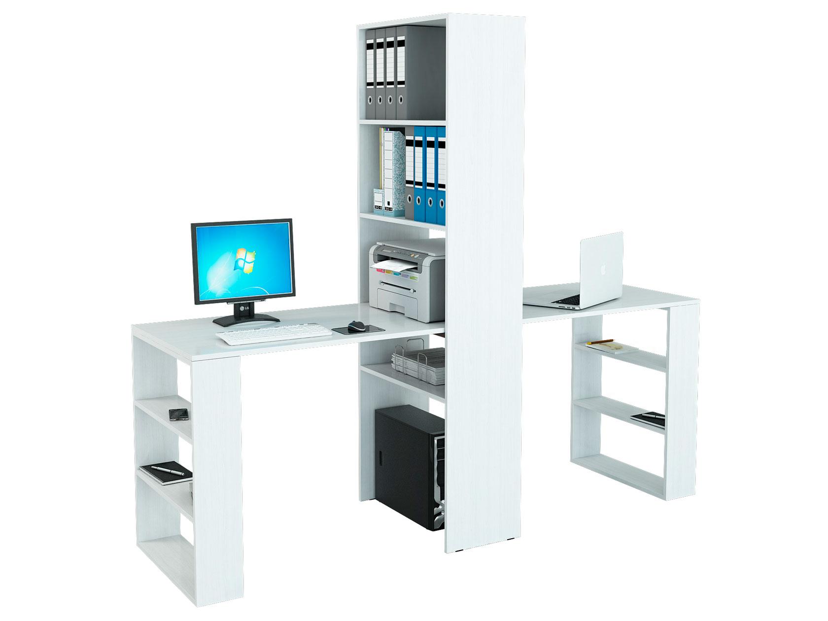 Компьютерный стол со стеллажом МФ Мастер Рикс