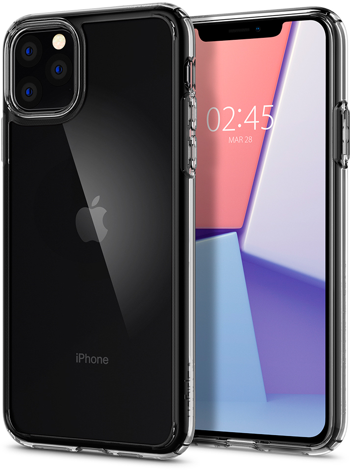Чехол Spigen Crystal Hybrid для Apple iPhone 11 Pro Max Clear (075CS27062)