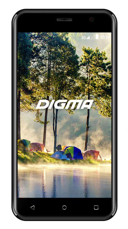Смартфон Digma Linx Joy 3G 4Gb Grey фото