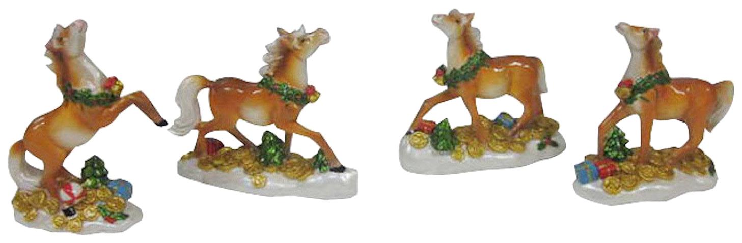 Купить Фигурка лошадь 9.5*3.5*9.5 см 4в., Snowmen,