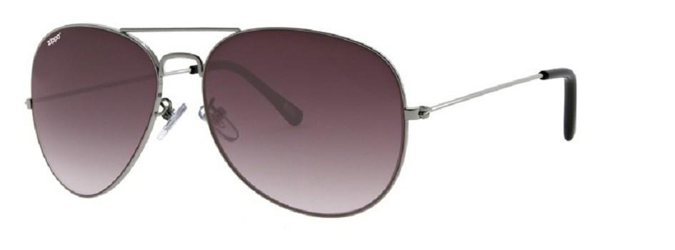 Солнцезащитные очки Zippo OB36 серебристые фото