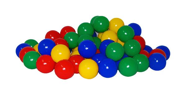 Купить Набор шариков для сухих бассейнов 8 см, 150Шт, (Уп, 5), Юг-Пласт,