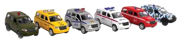 Купить Набор металлических машин Play Smart автопарк А79182, PLAYSMART, Спецслужбы