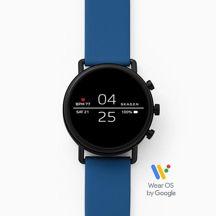 Смарт часы Skagen Falster Black/Blue (SKT5112)