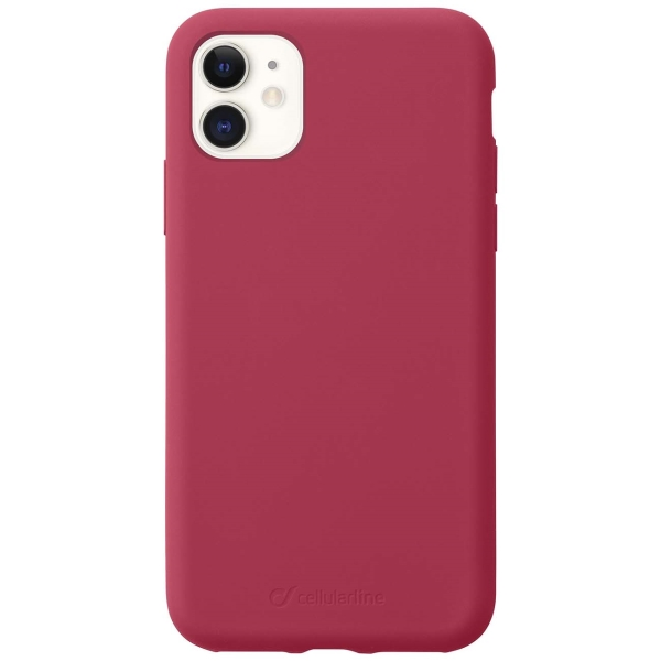 Чехол Cellular Line Sensation для Apple iPhone 11 Red