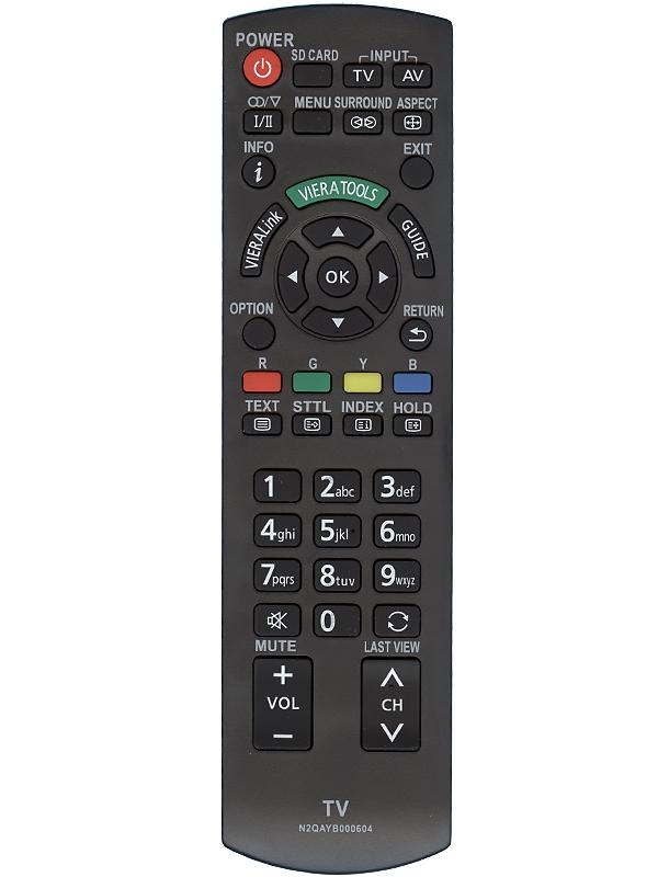 Пульт ДУ Huayu N2QAYB000604 для телевизоров Panasonic