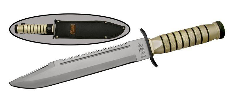 Нож выживания с компасом и набором выживания в рукояти H2043 от Viking Nordway