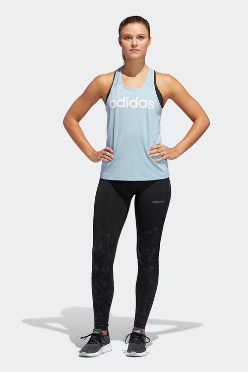Майка женская Adidas DU2063 голубая M