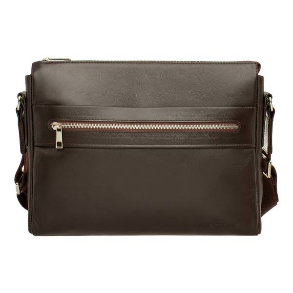 Сумка через плечо мужская LAKESTONE 955178 коричневая фото