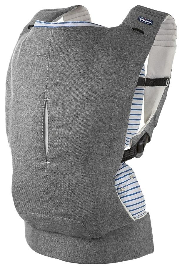 Переноска кенгуру Chicco Myamaki Complete Grey Stripes
