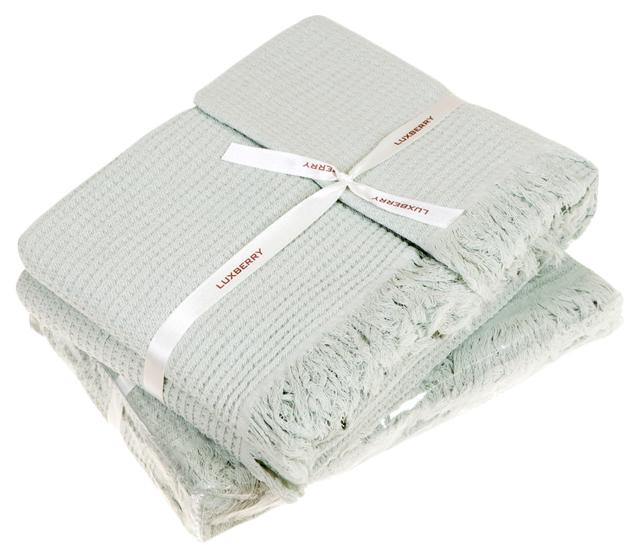 Набор полотенец Luxberry зеленый