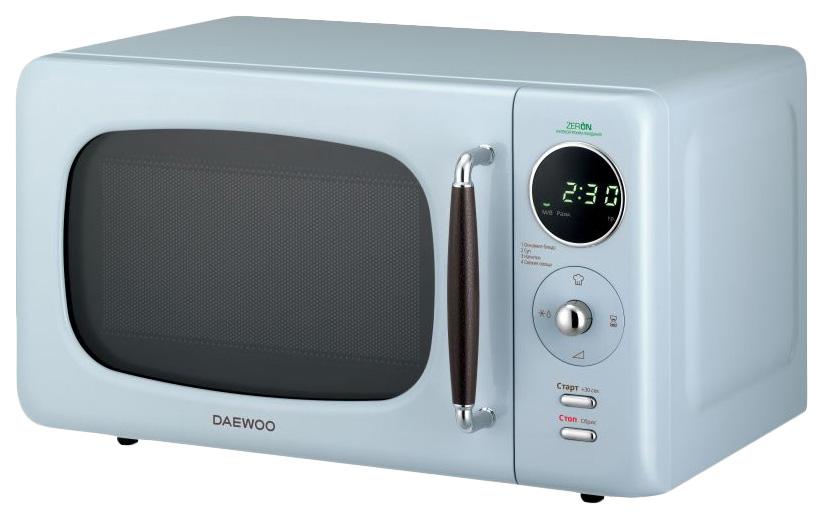Микроволновая печь соло Daewoo KOR 669RL blue