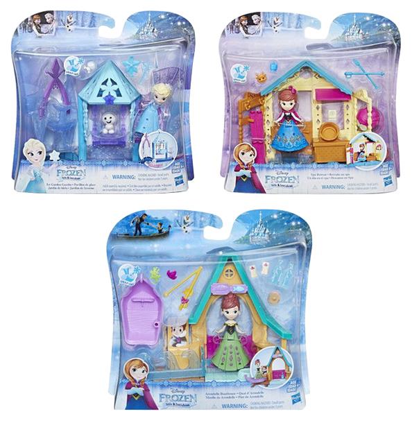 Купить Игровой набор Disney Hasbro Домик с куклой Холодное сердце, Disney Princess, Игровые наборы