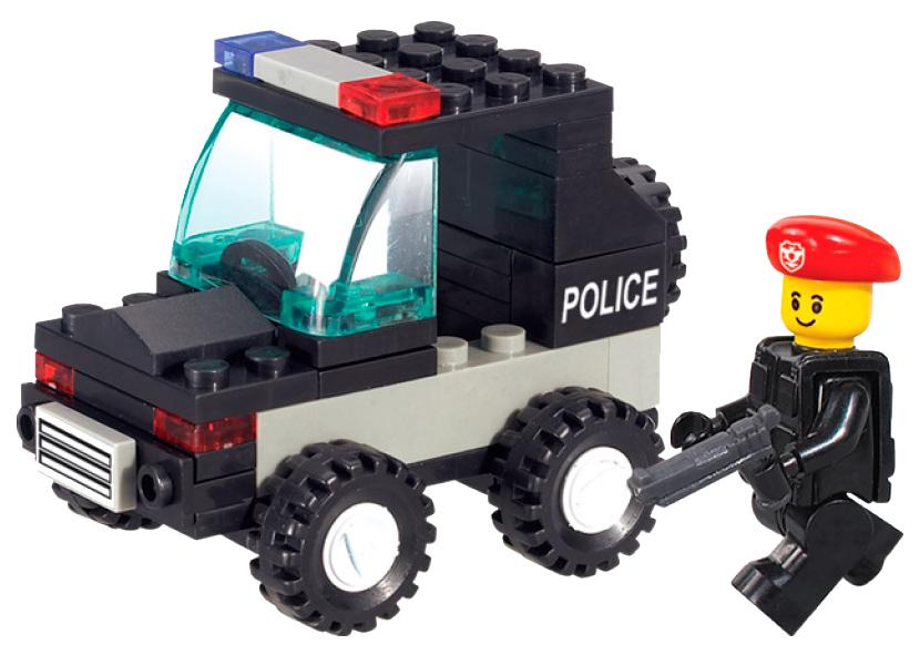 Конструктор пластиковый Sluban Военная Полиция Джип полиции M38-B700