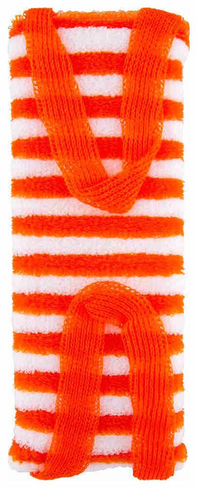 Мочалка для тела Vival М103 Массажная с ручками полосатая