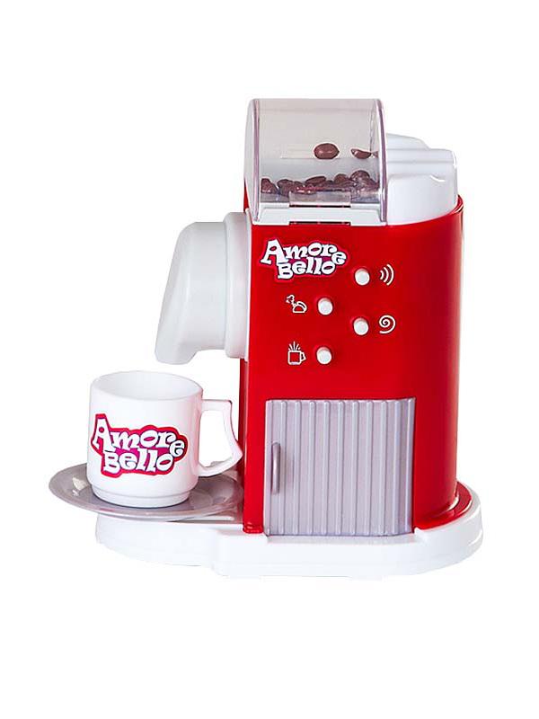 Купить Кофемашина Amore Bello на батарейках звук молота кофе, Shantou Gepai, Детская кухня