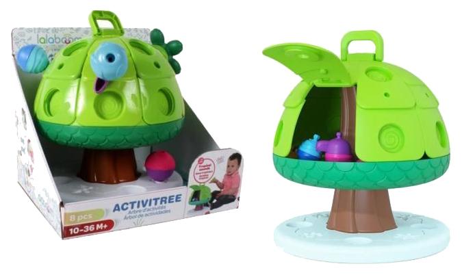 Купить Игрушка Lalaboom Дерево со звуковыми эффектами с аксессуарами BL530, Интерактивные развивающие игрушки