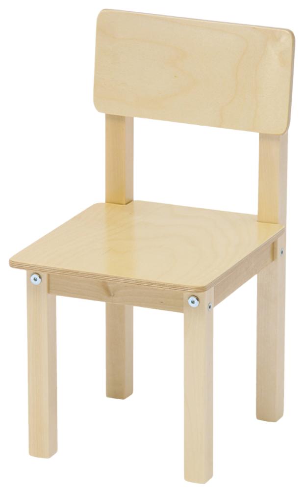 Купить Стул детский для комплекта детской мебели Polini Kids Simple 105 S Натуральный, Детские стульчики