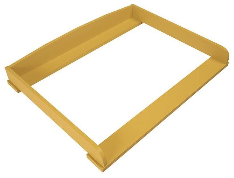 Купить Рамка на комод Polini kids Disney baby 5090 Медвежонок Винни и его друзья желтый, Пеленальные доски