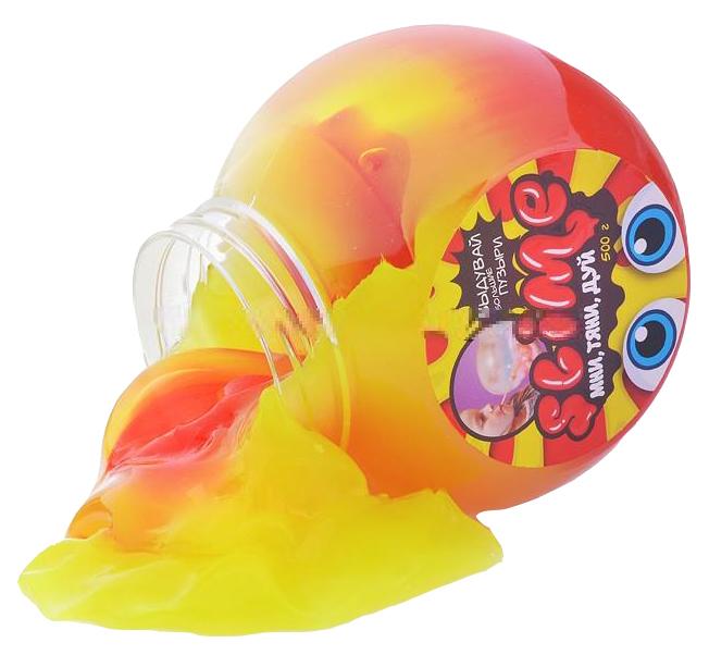Лизуны Волшебный Мир Slime Mega Mix 500 г, желтый + клубничный