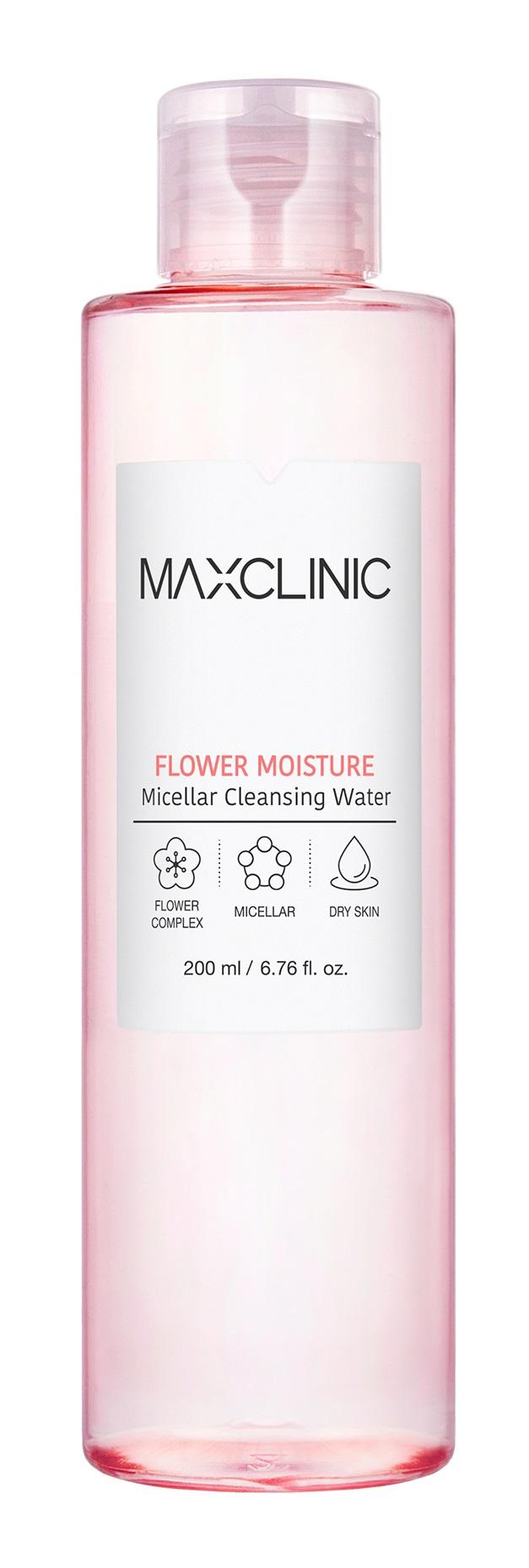 Мицеллярная вода Maxclinic Micellar Cleansing Water Flower Moisture