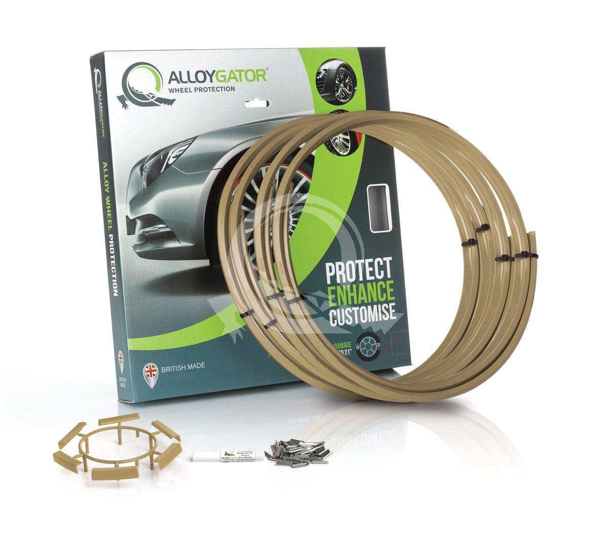 Защитные кольца на диски AlloyGator R13-21 золотые фото