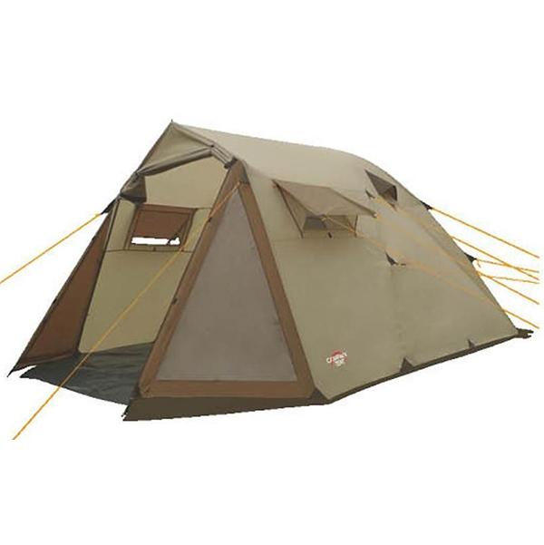 Палатка Campack-Tent Camp Voyager четырехместная зеленая/коричневая